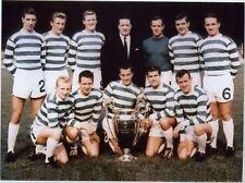 Celtic Lisbon Lions 1967 European Cup Winner 10x8 Photo