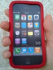 CUSTODIA -COVER ROSSA per Apple iPhone 3G 8-16GB, 3G S