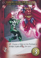 TIME-TRAVELING JEAN GREY Upper Deck Marvel Legendary THROW OVER THE RAILING