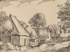 VAN DOETECHUM SMALL LANDSCAPE DUTCH OLD ART PAINTING POSTER PRINT BB6470A