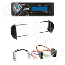 Caliber RMD055 USB/SD-Radio + VW New Beetle 1-DIN Blende black + ISO-Adapter Set