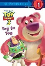 Disney Toy Story 3: Toy to Toy (2010 Paperback) Step 1 Ready To Read Book