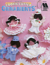 Cookie Cutter Ornaments, Annie's crochet patterns OOP