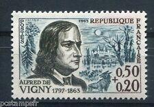 FRANCE - 1963, timbre 1375, ALFRED DE VIGNY, neuf**