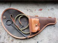 Rare original Russian Soviet Nagant m1895 revolver holster full set (3 items)
