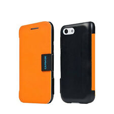 CAPDASE SAMSUNG Galaxy S4 GT-i9295 Protective Flip Cover Phone Case Orange