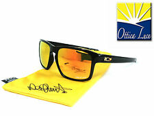 OAKLEY SLIVER 9262 27 POLISHED BLACK  FIRE IRIDIUM VR46 VALENTINO ROSSI Sunglass