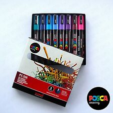 POSCA Art Paint Markers - PC-5M Spectrum Set of 8 [PACK B] - Box Set