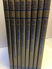 SERIES COLLECTION OF 8 BOOKS ON THE CIVIL WAR/RONALD H. BAILEY-TIME LIFE 1983-87