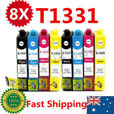 8x T133 T1331 Ink Cartridges For Epson NX 125 130 230 420 430 WF320 325 435 525