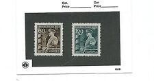 Mint postage stamps / Adolph Hitler / 1944 Issues / 55th Birthday set / MNH