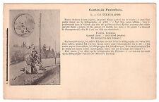 CPA CONTES DE FRAIMBOIS - 2) LE TELEGRAPHE