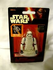 Disney Star Wars 3D Storm Tropper Eraser-Star Wars 3D Eraser-New in Package!