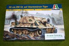 38 Cm Rw 61 auf sturmmoser Tiger Escala 1/35 Italeri 299