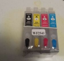 REFILLABLE 200XL INK SYSTEM FOR  XP-300 XP-400 & WORKFORCE WF-2540 WITH INK!