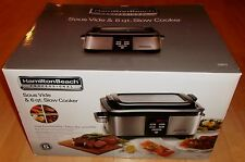 Hamilton Beach Professional 33970 Sous Vide & 6 qt. Slow Cooker NEW