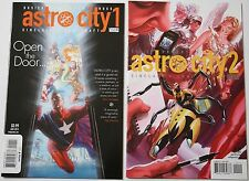 Astro City #1 & 2 1st Print DC Comics Vertigo Kurt Busiek Alex Ross
