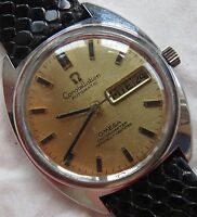 Omega Constellation Automatic mens wristwatch steel case Ref. 168019 35 mm.