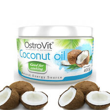 100% Pure Premium Raw Coconut Oil 400g 100% NO Frills and Fillers