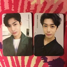 MONSTA X OFFICIAL THE CLAN Part 1 Photocard Set - HYUNGWON Lost & Found Versions
