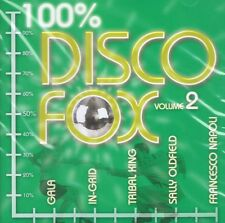 Disco Fox 100% Vol.2 - NEU CD- Sally Oldfield Gigi D Agostino Tribal King