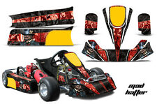 AMR Racing Paul Tracy PKT Kid JR Cadet Kart Graphic Decal Kit Parts MAD HATTER R