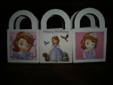 Sofia the First Birthday Party pack 12 Favor Boxes Free Personalization
