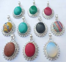 JEWELRY 10PCS 925 STERLING SILVER OVERLAY SHOP FOR AUCTION STYLE JEWELR PENDANT