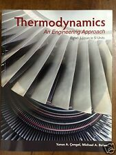 Thermodynamics: An Engineering Approach 8E by Cengel 8th (Color SI Unit Edition)
