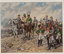 N°169 Battle of Leipzig 1813 Prussia Saxony Russia Napoleon war IMAGE CARD 30s