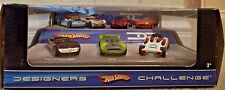 HOT WHEELS DESIGNERS CHALLENGE 7-CAR SET DODGE XP-07 LOTUS CONCEPT HW40 *NEW*