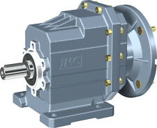 Geared motor - Helical 'in-line' gearbox and motor, 0.25kw (1/3hp) - 60rpm