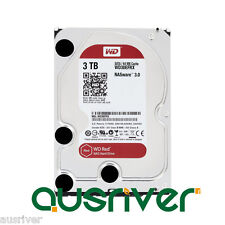 "Western Digital WD Red 3TB 3.5"" SATA Internal NAS Hard Drive HDD 5400RPM"