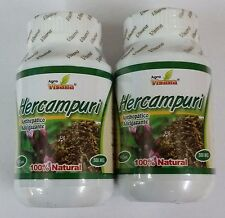 HERCAMPURI  500MG 200 CAPSULES FAT BURNER FROM PERU 100% GARANTED