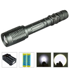 Zoomable Tactical LED Flashlight Trustfire Z5 1600LM CREE 1-Mode + 18650 Battery