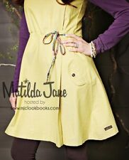 Womens MATILDA JANE you and me yellow Dear Henry dress SIZE L LARGE VGUC