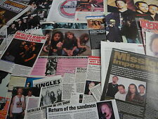 METALLICA - MAGAZINE CUTTINGS COLLECTION (REF T2)