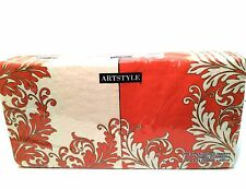 ArtStyle Paper Napkins 150 Luncheon Party Florished Pink Coral 3 Ply 13 x 13 in