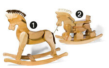 Schaukelpferd (Nr.2), Laufrad, Schaukelspielzeug, Holzpferd, Spielzeug, Kinder