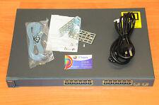 Cisco WS-C3560-24TS-S Switch IOS15 32MB Flash 6MthWty CCNA like WS-C3560-24TS-E