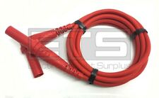 Pomona 5908A DMM Test Lead Straight 4mm Banana Plugs Red 5908