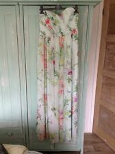 Ted Baker Mint, Floral Maxi dress Size 3 (fits 12)with Matching Top (2)