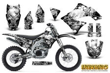 KAWASAKI KXF450 KX450F 09-11 GRAPHICS KIT CREATORX DECALS INFERNO WNP
