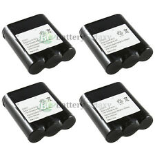 4 Home Phone Battery for Panasonic KX-TGA270 KX-TGA270S