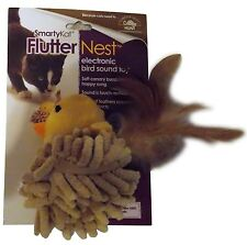 SmartyKat SmartyKat FlutterNest Electronic Bird-Sound Cat Toy - NEW