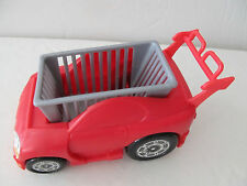Mattel Barbie Happy Family Grocery Store Car Cart for Toddler Nikki Dolls