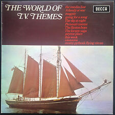 WORLD OF TV THEMES soundtracks OST LP 1972 Onedin Forsyte Peyton Magpie Casanova