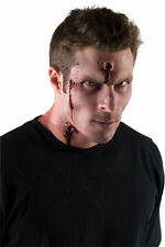 Bullet Gunshots Body Hits Wound Makeup Appliance Latex Halloween Prosthetics