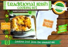 TRADITIONAL IRISH COOKBOOK & COOKING SET 25 Recipe Cookbook & Pie Pan NEW