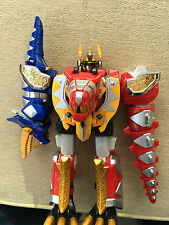 Power Rangers Deluxe Dino thunder megazord transformer to robot nice set